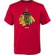 Reebok Youth Chicago Blackhawks Blackhawks Logo T-Shirt