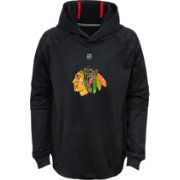 NHL Youth Chicago Blackhawks Mach Red Pullover Hoodie
