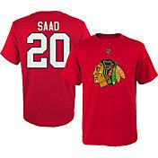NHL Youth Chicago Blackhawks Brandon Saad #20 Red T-Shirt