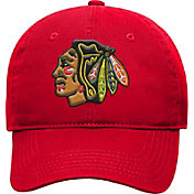 NHL Youth Chicago Blackhawks Basic Structured Adjustable Red Hat