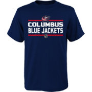 NHL Youth Columbus Blue Jackets Epitome Navy T-Shirt