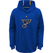 NHL Youth St. Louis Blues Mach Navy Pullover Hoodie