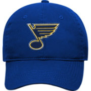 NHL Youth St. Louis Blues Basic Structured Adjustable Royal Hat