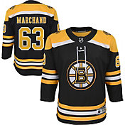 NHL Youth Boston Bruins Brad Marchand #63 Premier Home Jersey