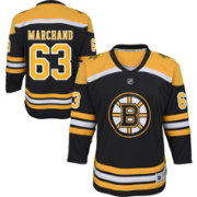 NHL Youth Boston Bruins Brad Marchand #63 Replica Home Jersey