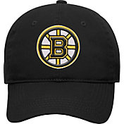NHL Youth Boston Bruins Basic Structured Adjustable Black Hat