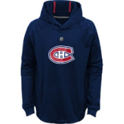 NHL Youth Montreal Canadiens Mach Navy Pullover Hoodie