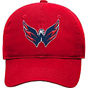 NHL Youth Washington Capitals Basic Structured Adjustable Red Hat