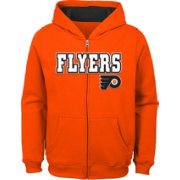 NHL Youth Philadelphia Flyers Stated Orange Full-Zip Hoodie