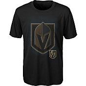 NHL Youth Vegas Golden Knights Logo Matrix Black T-Shirt