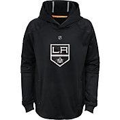 NHL Youth Los Angeles Kings Mach Black Pullover Hoodie