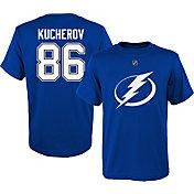 NHL Youth Tampa Bay Lightning Nikita Kucherov #86 Royal T-Shirt