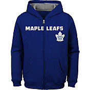 NHL Youth Toronto Maple Leafs Stated Royal Full-Zip Hoodie