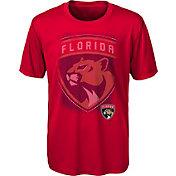 NHL Youth Florida Panthers Logo Matrix Red T-Shirt