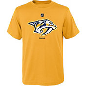 Reebok Youth Nashville Predators Gold T-Shirt