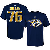 Reebok Youth Nashville Predators P. K. Subban #76 Navy Player T-Shirt