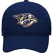 NHL Youth Nashville Predators Basic Structured Adjustable Navy Hat