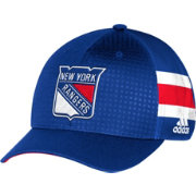 adidas Youth New York Rangers 2017 NHL Draft Structured Flex Hat