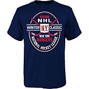 NHL Youth 2018 Winter Classic New York Rangers Roster Navy T-Shirt