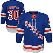 NHL Youth New York Rangers Henrik Lundqvist #30 Premier Home Jersey