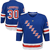 NHL Youth New York Rangers Henrik Lundqvist #30 Replica Home Jersey