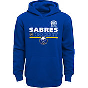 NHL Youth 2018 Winter Classic Buffalo Sabres Locker Room Blue Pullover Hoodie