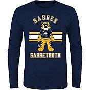 NHL Youth Buffalo Sabres Mascot Navy Long Sleeve Shirt