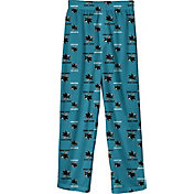 NHL Youth San Jose Sharks Team Logo Teal Sleep Pants