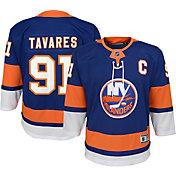 NHL Youth New York Islanders John Taveras #91 Premier Home Jersey