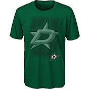 NHL Youth Dallas Stars Logo Matrix Green T-Shirt