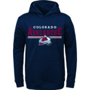 NHL Youth Colorado Avalanche MVP Navy Pullover Hoodie