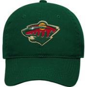 NHL Youth Minnesota Wild Basic Structured Adjustable Green Hat