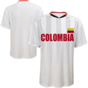 Outerstuff Youth Colombia Replica Jersey Whtie T-Shirt