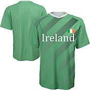 Outerstuff Youth Ireland Replica Jersey Green T-Shirt