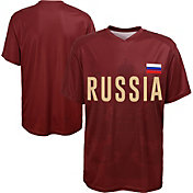 Outerstuff Youth Russia Replica Jersey Crimson T-Shirt