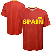 Outerstuff Youth Spain Replica Jersey Red T-Shirt