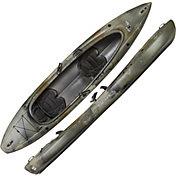 Old Town Canoe Twin Heron Angler 136 Tandem Kayak