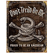 Don't Tread On Me Tin Sign