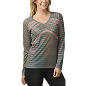 prAna Women's Baseball Portfolio Long Sleeve Shirt