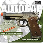 Parris Autocap Desert Storm Toy Handgun