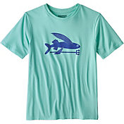 Patagonia Boys' Flying Fish Organic T-Shirt