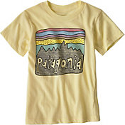 Patagonia Boys' Fitz Roy Skies Organic T-Shirt