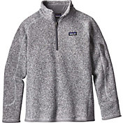 Patagonia Girls' Better Sweater Fleece Qaurter Zip