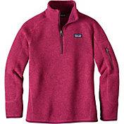 Patagonia Girls' Better Sweater Fleece Quarter Zip