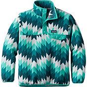 Patagonia Girls' Lightweight Synchilla Snap-T Fleece Pullover