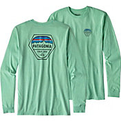 Patagonia Men's Fitz Roy Hex Long Sleeve T-Shirt