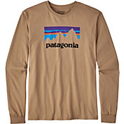 Patagonia Men's Shop Sticker Long Sleeve Shirt