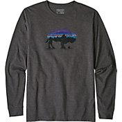 Patagonia Men's Fitz Roy Bison Long Sleeve Shirt
