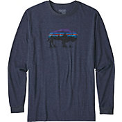 Patagonia Men's Fitz Roy Bison Long Sleeve Shirt