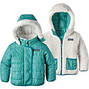 Patagonia Toddler Girls' Dream Song Reversible Hooded Jacket